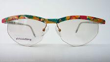 Online Glasses for Women Only Upper Edge Multicolour Colourful Fancy 55-15 Size