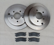Mazda Bongo 95 - 06 All Models Rear Brake Discs & Pads FREE NEXT DAY DELIVERY