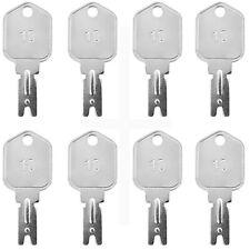 8x Ignition Start Starter Keys For Daewoo Hyster Yale Gradall Clark Jlg Forklift