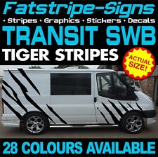 FORD TRANSIT SWB TIGER STRIPES GRAPHICS STICKERS STRIPES DECALS ST M SPORT VAN D