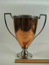 1906 USWV US Army War Veterans Copper First Prize Santiago Trophy Cup