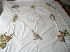 VINTAGE TABLE CLOTH 1986 SOUTH AUSTRALIA 150 YEARS PADDLE STEAMER MASCOT ETC