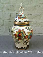 B2016333 - Vase en céramique H.Bequet - Quaregnon Belgique - 33 cm de hauteur