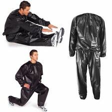 Men Women Heavy Duty Sweat Sauna Suit Gym Fitness Exercise Weight Loss Tracksuit