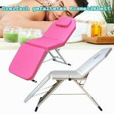Folding Massage Table Bed Therapy Beauty 3 Sections Couch Salon Portable