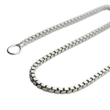 Venetians Chain 925 sterling silver necklace pendant chain different lengths 1mm