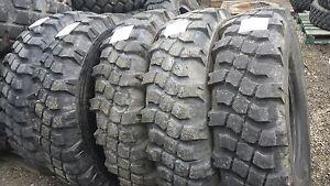 """Military Surplus 44"""" Tire 12.00R20 Michelin XML"""