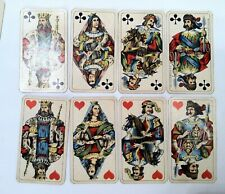 Old Antique Ferdinand Piatnik & Sohnes Playing Cards In Nice Vintage Shape 4 Age