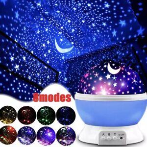LED USB Star Light Kid Sleep Night Sky Romantic Starry Projector Cosmos Lamp🔥