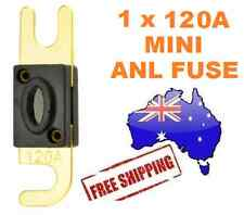 1 x 120AMP Mini ANL Fuse for Car Amplifier Wiring Kit Fuse Holders 120A Midi AFC