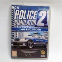 Police Simulator 2 Law and Order Windows PC Game inc Serial Key Free UK P+P