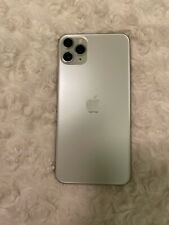 Apple iphone 11 promax cell phone -  64GB, Unlocked, Silver