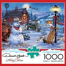 Darrell Bush Holiday Collection Country Christmas 1000 Piece Puzzle NEW