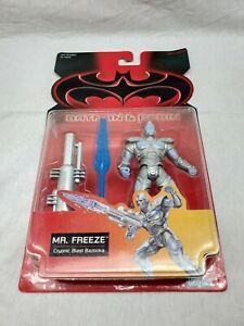 VTG Kenner Batman & Robin Cryonic Blast Bazooka Mr. Freeze Action Figure 1997