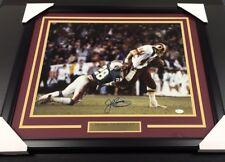 John Riggins Autographed Super Bowl XVII 16x20 Photo Framed Redskins JSA COA