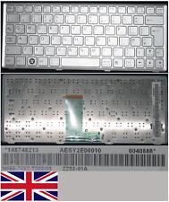 Clavier Qwerty UK SONY VAIO VPC-W VPC-W217  ZZ52-01A 148748213 Gris / Silver
