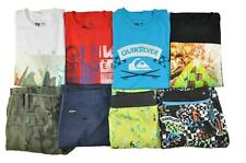 Quiksilver Big Boys 8pc Tops & Shorts Lot Size 12 (New With & Without Tag)