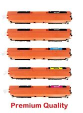5PK Combo Set CF350A ,CF351A, CF352A, CF353A for HP130A  Pro MFP M176n,M177fw