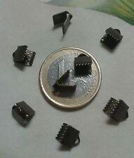 (R-9021)  60  TERMIMALES   COLOR  ORO VIEJO   6  mm  ABALORIOS