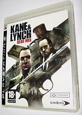 Kane & Lynch: Dead Men - gioco PS3 Avventura (Inglese)