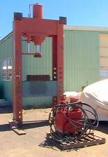 "220 Ton H-Frame Hydraulic Press 36""stroke, 45""x66"" window, 4KW 2-pump power unit"