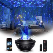 Projecteur d'Étoiles, Projecteur Galaxie Bluetooth, Veilleuse LED