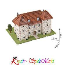 Domenech Cuit - Stein Modellbau traditionelles Haus Auvergne Frankreich H0 1:85