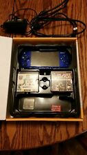 Madden 09 Limited Edition Blue PSP w/ box, games and accessories