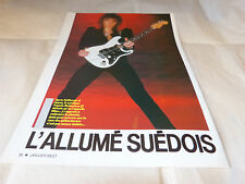 YNGWIE MALMSTEEN - Mini poster couleurs !!!!!!!!!!!!!!!