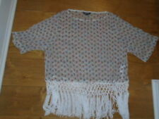 d0ba13a71 Fringe White Tops & Shirts for Women for sale | eBay