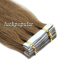 Tape in Hair Extensions 100% Remy Human Hair 20/40pcs Skin Weft Ombre Hightlight
