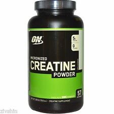 Optimum Nutrition micronized creatine monohydrate power strength 300 gram powder