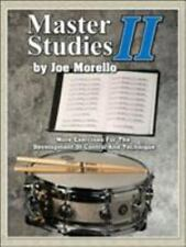 Master Studies II : More Exercises for the Development of Control and...