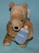 Classic Pooh, Gund, Winnie the Pooh, Easter basket, eggs, spring, new, sits, 9in