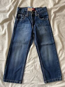 NWT Levi's Jeans 505 Regular Toddler Boy Size 5 Adjustable Waist Denim