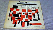 LENNIE NIEHAUS VOL 3 THE OCTET 2 1st VOGUE UK LP 1955 Contemporary Jazz LAC12054