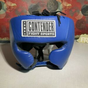 Contender Fight Sports Open Face Competition Headgear USA Boxing W Cheeks, Large