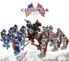 Minifiguren Amerikanischer Bürgerkrieg, Civil War, LEGO® kompatibel