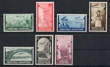 1940 ITALY OCCUPATION OF ALBANIA SA# 5-11, MNH SET, CV $355.00, WOW