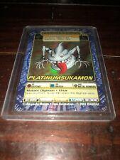 BANDAI DIGIMON HOLO CARD ST-98 PLATINUMSUKAMON 2001 Bandia