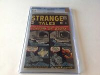 STRANGE TALES 96 CGC 5.5 OFF WHITE TO WHITE PAGES MARVEL COMICS 1962