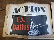 journal action - n° 31 du 25 octobre 1968 : U.S. Battus