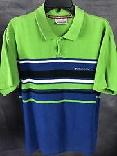 QUIKSILVER - S/S POLO SUPER THICK STRETCHY VINTAGE GREAT CONDITION 90's Shirt L