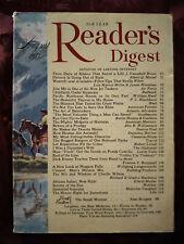 Readers Digest August 1957 Cigarettes Ruth Slenczynska Lionel Barrymore