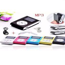 Mini Mp3 Player mit LCD Display  Aluminium Clip