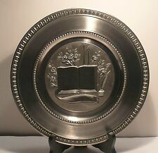 "Frieling Zinn >> Germany > 95% >> Pure Pewter (9-1/2"" plate) > special"