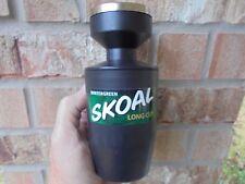 New 2004 SKOAL/UST Snuff 3-pc plastic barrell metal top spittoon
