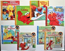 Sesame Street Lot of 8 Books 2005-2009 Elmo Big Bird