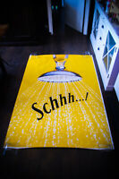 SCHWEPPES D 4x6 ft Bus Shelter Original Vintage Advertising Poster