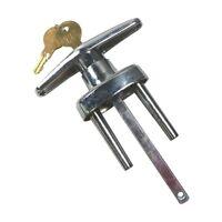 Garage Door Locking T Handle w/2 Keys